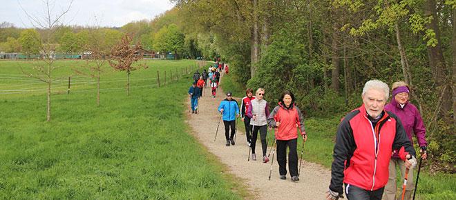 Neuburger Frühjahrs-Walking 2017