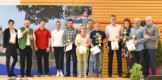 Siegerehrung Alb-Donau Walkingcup 2017